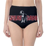 Great Dane High-Waist Bikini Bottoms