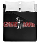 Great Dane Duvet Cover Double Side (Queen Size)