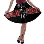Great Dane A-line Skater Skirt