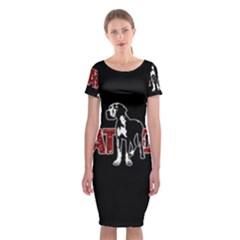 Great Dane Classic Short Sleeve Midi Dress
