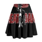 Great Dane High Waist Skirt