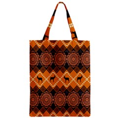 Traditiona  Patterns And African Patterns Zipper Classic Tote Bag by Onesevenart