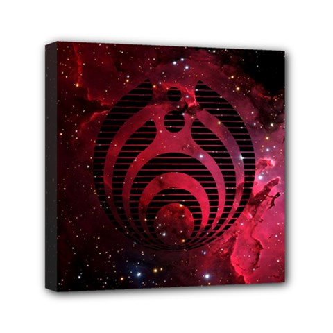 Bassnectar Galaxy Nebula Mini Canvas 6  X 6  by Onesevenart