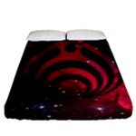 Bassnectar Galaxy Nebula Fitted Sheet (Queen Size)