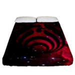 Bassnectar Galaxy Nebula Fitted Sheet (California King Size)