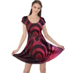 Bassnectar Galaxy Nebula Cap Sleeve Dress