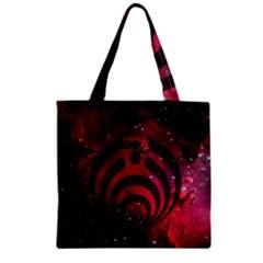 Bassnectar Galaxy Nebula Zipper Grocery Tote Bag by Onesevenart