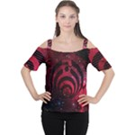 Bassnectar Galaxy Nebula Cutout Shoulder Tee