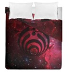 Bassnectar Galaxy Nebula Duvet Cover Double Side (Queen Size)