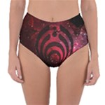Bassnectar Galaxy Nebula Reversible High-Waist Bikini Bottoms