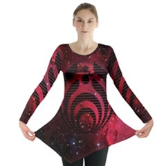 Bassnectar Galaxy Nebula Long Sleeve Tunic  by Onesevenart
