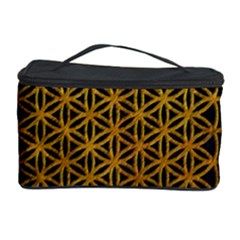 Bring Me The Horizon Cover Album Gold Cosmetic Storage Case by Onesevenart