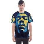Gabz Jimi Hendrix Voodoo Child Poster Release From Dark Hall Mansion Men s Sports Mesh Tee