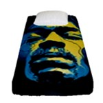 Gabz Jimi Hendrix Voodoo Child Poster Release From Dark Hall Mansion Fitted Sheet (Single Size)