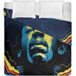 Gabz Jimi Hendrix Voodoo Child Poster Release From Dark Hall Mansion Duvet Cover Double Side (King Size)