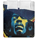 Gabz Jimi Hendrix Voodoo Child Poster Release From Dark Hall Mansion Duvet Cover Double Side (California King Size)