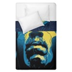 Gabz Jimi Hendrix Voodoo Child Poster Release From Dark Hall Mansion Duvet Cover Double Side (Single Size)