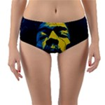 Gabz Jimi Hendrix Voodoo Child Poster Release From Dark Hall Mansion Reversible Mid-Waist Bikini Bottoms