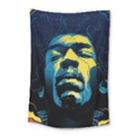 Gabz Jimi Hendrix Voodoo Child Poster Release From Dark Hall Mansion Small Tapestry
