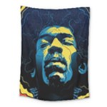 Gabz Jimi Hendrix Voodoo Child Poster Release From Dark Hall Mansion Medium Tapestry