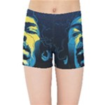 Gabz Jimi Hendrix Voodoo Child Poster Release From Dark Hall Mansion Kids Sports Shorts