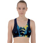 Gabz Jimi Hendrix Voodoo Child Poster Release From Dark Hall Mansion Back Weave Sports Bra