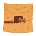 Nyan Cat Vintage Square Tapestry (Large)