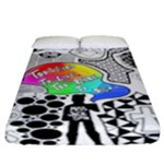 Panic ! At The Disco Fitted Sheet (California King Size)
