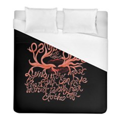 Panic At The Disco   Lying Is The Most Fun A Girl Have Without Taking Her Clothes Duvet Cover (full/ Double Size) by Onesevenart