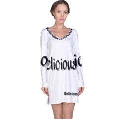 Belicious Logo Long Sleeve Nightdress by beliciousworld