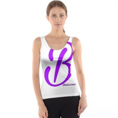 Belicious World  b  Blue Tank Top by beliciousworld