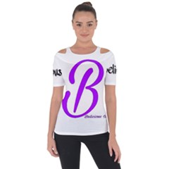 Belicious World  b  Blue Short Sleeve Top by beliciousworld
