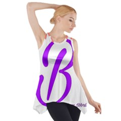 Belicious World  b  Coral Side Drop Tank Tunic by beliciousworld