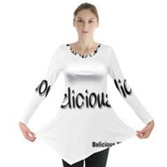 Belicious World Logo Long Sleeve Tunic  by beliciousworld