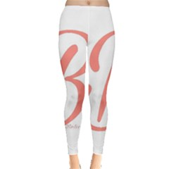 Belicious World  b  In Coral Leggings  by beliciousworld