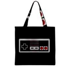 Video Game Controller 80s Grocery Tote Bag by Valentinaart