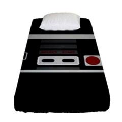 Video Game Controller 80s Fitted Sheet (single Size) by Valentinaart