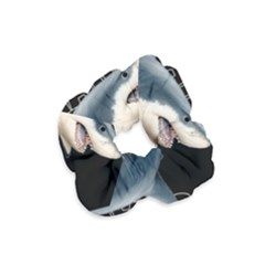 The Shark Movie Velvet Scrunchie by Valentinaart