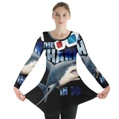The Shark Movie Long Sleeve Tunic  by Valentinaart