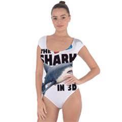 The Shark Movie Short Sleeve Leotard  by Valentinaart