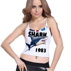 The Shark Movie Spaghetti Strap Bra Top by Valentinaart