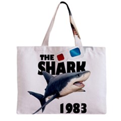 The Shark Movie Zipper Mini Tote Bag by Valentinaart
