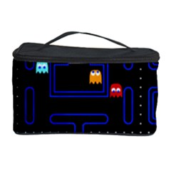 Pac Man Cosmetic Storage Case by Valentinaart