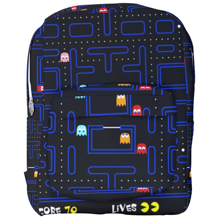 Pac-Man Full Print Backpack