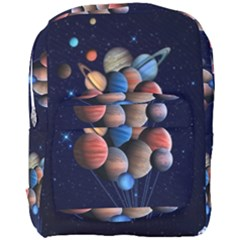Planets  Full Print Backpack