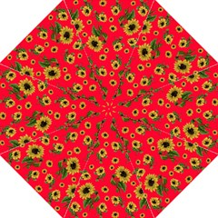 Sunflowers Pattern Straight Umbrellas by Valentinaart