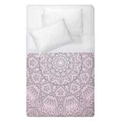 Pink Mandala art  Duvet Cover (Single Size)