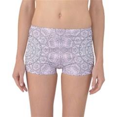 Pink Mandala art  Reversible Boyleg Bikini Bottoms