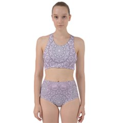 Pink Mandala art  Bikini Swimsuit Spa Swimsuit