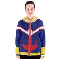 Greatest Hero Women s Zipper Hoodie by NoctemClothing